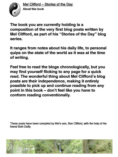 Mel Clifford | Stories of the Day | e-book