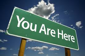 You are here 1